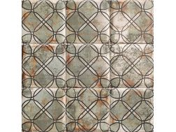 TIN-TILE SHEET 20x20 cm - wall tile, Andalusian style.