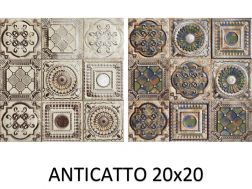ANTICATTO 20x20 cm - wall tile, Andalusian style.