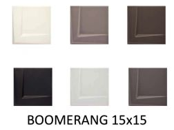 BOOMERANG 15x15 - 3D wall relief tile