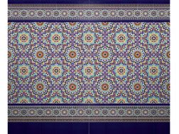 SEVILLANO 26 - 20x20 cm - wall tile, in the Oriental style.
