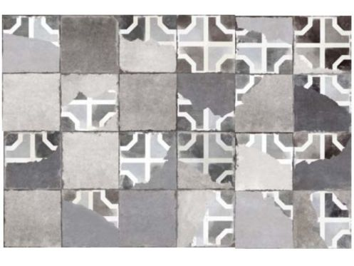 FS BRIATI 45x45 - Tiles with an old look.