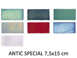 ANTIC SPECIAL 7,5x15 cm - Wall tiles, rustic rectangle