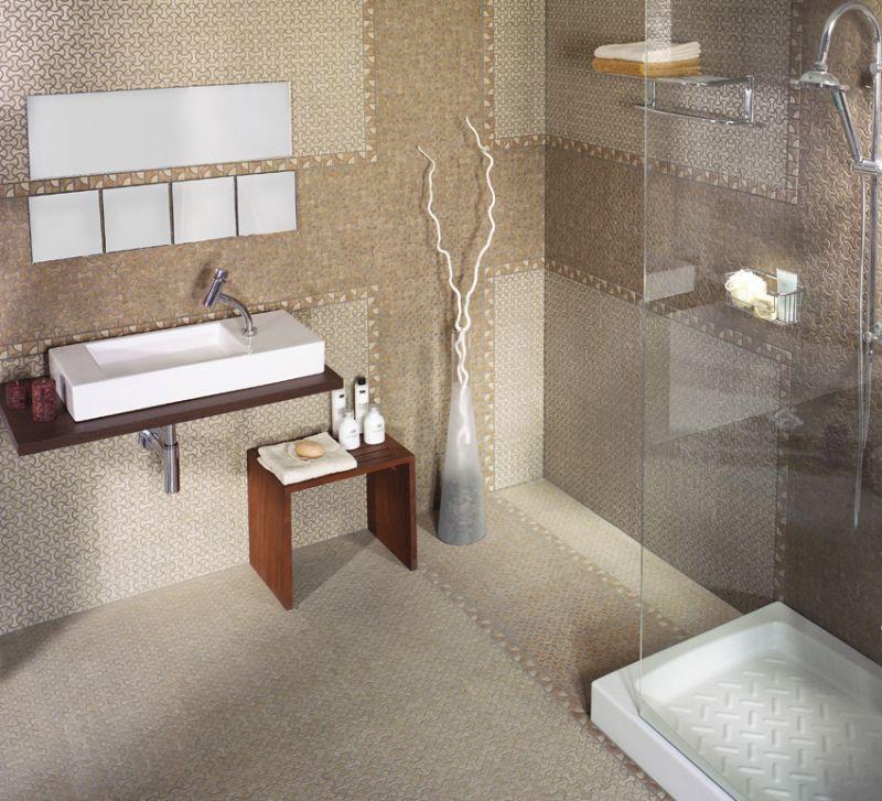 Floor and wall tiling. Oriental - Dimarrni RETE ROSSO - earthenware ...