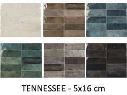 TENNESSEE 5x16 cm - Small and mature floor tiles