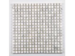 15CARVF - 30 x 30 cm - Contemporary design mosaic, in stone & marble