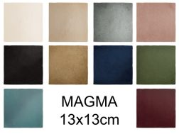 MAGMA 13X13 cm - Wall tiles, contemporary zellige style