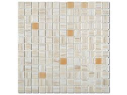 7536 - Emaux Cosmos BEIGE, Enamels Glass Mosaic
