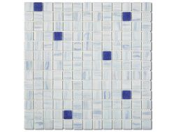 7537 - Emaux Cosmos AZUL, Enamels Glass Mosaic