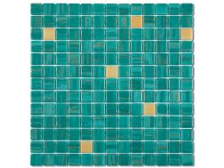 7561 - Emaux Cosmos VERDE, Enamels Glass Mosaic