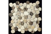 Taro emperador mix, Sawed pebble mosaic, tiles 30x30 cm. boxer