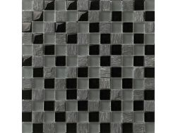 Siam Antracite, Mosaic glass tile 29,5x29,5 cm. Boxer