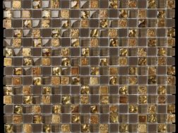 Eldorado Marron, Mosaic glass tile 30x30 cm. Boxer