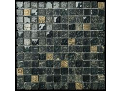 Escorial Anthracite, mosaic sheet 30x30 cm, Boxer.