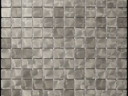 Alubond/25 Nickel, Tile Mosaic Stainless. Boxer