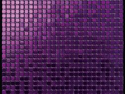 Alubond/10 Viola, Tile Mosaic Stainless. Boxer