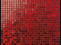 Alubond/10 Rosso, Tile Mosaic Stainless. Boxer